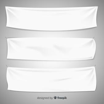 Textil-banner-sammlung