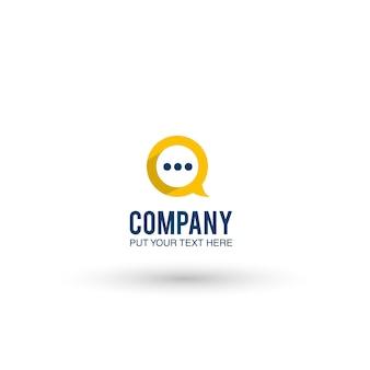 Texting logo hintergrund