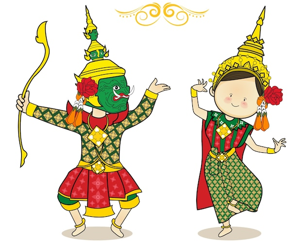Thai tanzen