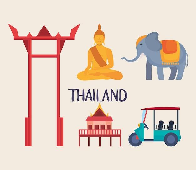 Thailand-icon-set