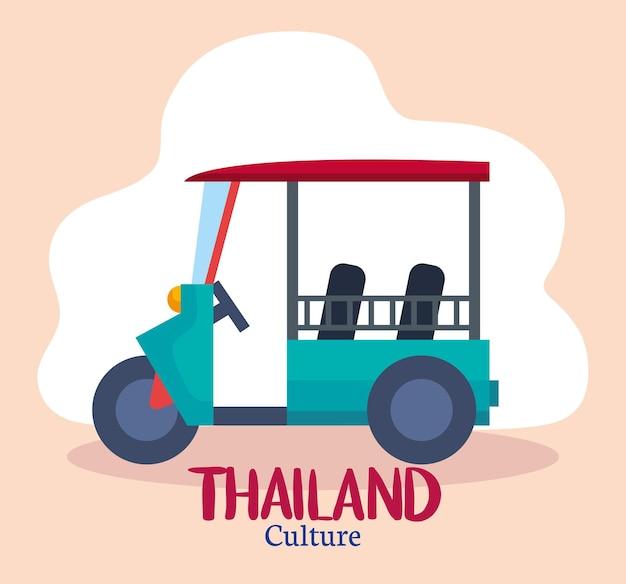 Thailand kulturwagen
