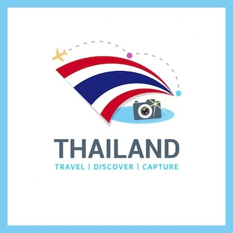 Thailand travel logo