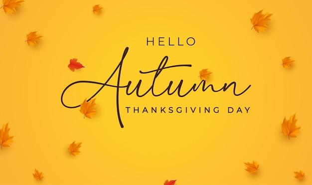 Thanksgiving day-banner