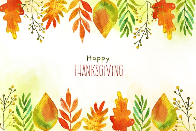 Thanksgiving day wallpaper konzept