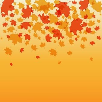 Thanksgiving hintergrund vektor-illustration herbst hintergrund für postkarte poster karte eps 10