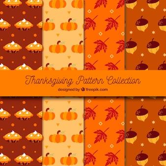 Thanksgiving jahrgang muster