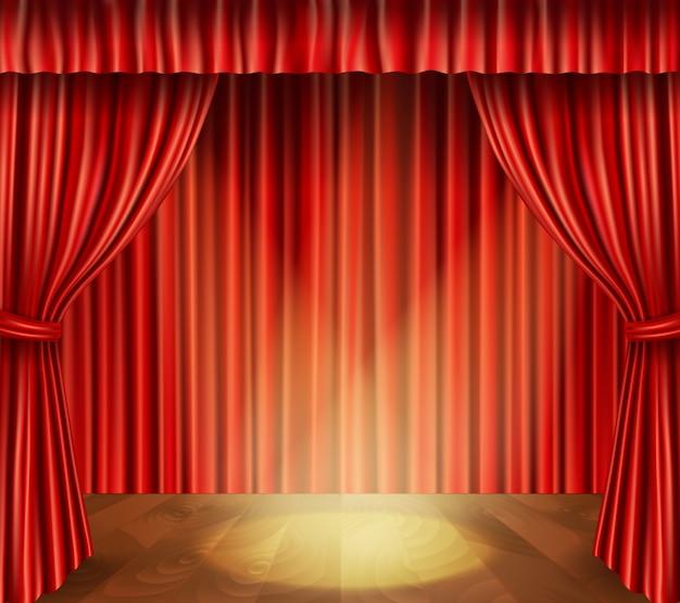Theater bühne hintergrund