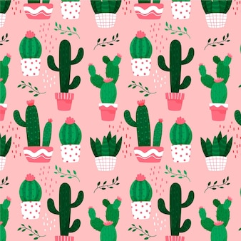 Thema der kaktusmustersammlung