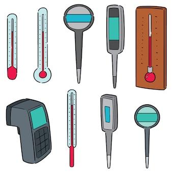 Thermometer einstellen