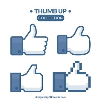 Thumb up-kollektion