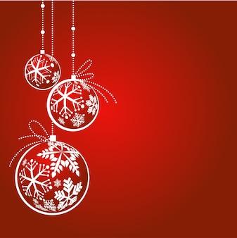 Tiefroter hintergrund des magischen weihnachts für grußkarte, fahne oder plakat