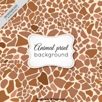 Tier abstrakten hintergrund der giraffe