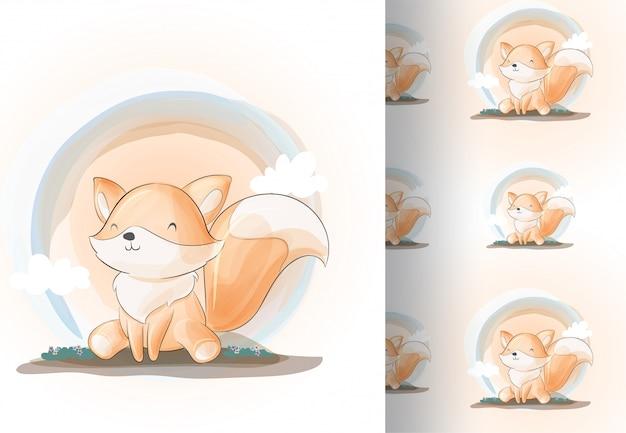 Tier fuchs sehr süß