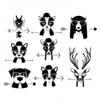 Tier hipster design