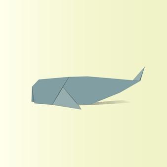 Tier origami vektor