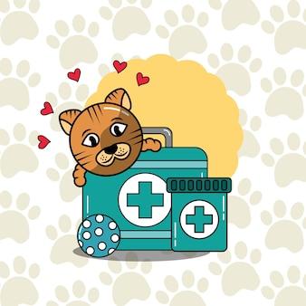 Tierärztliche medizinische versorgung zur haustierbetreuung