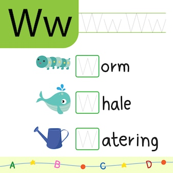 Tierarbeitsblatt-vektordesign