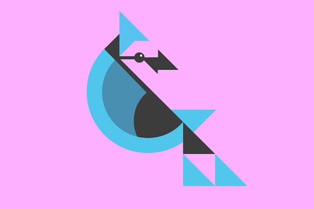 Tiere im flachen design