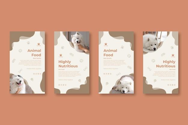 Tierfutter instagram geschichten
