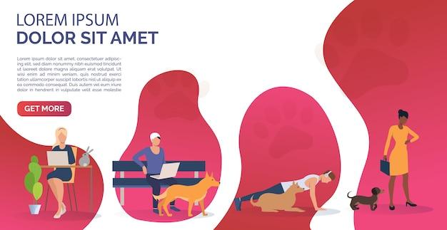Tierhalter entspannen und trainieren