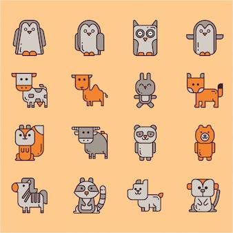 Tierische ikone