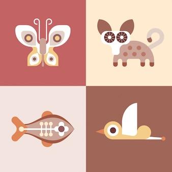 Tierische symbole