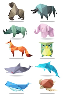 Tierischer origami