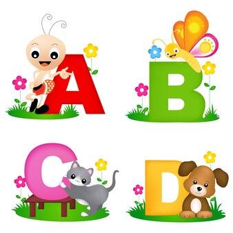 Tierisches alphabet