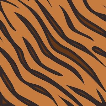 Tiger animal print muster