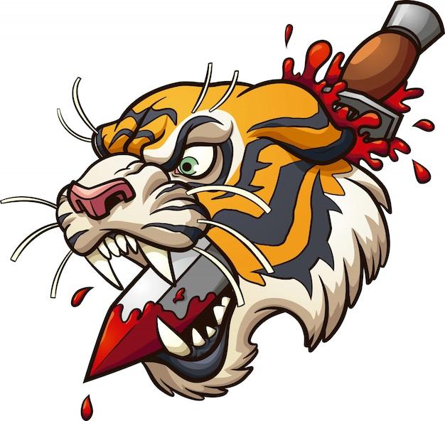 Tiger dolch