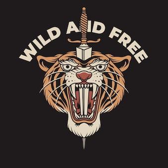 Tiger einfach
