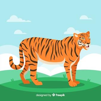 Tiger hintergrund