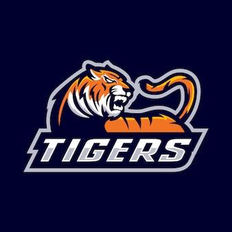 Tiger maskottchen logo