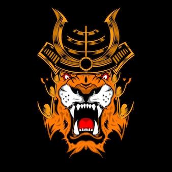Tiger samurai