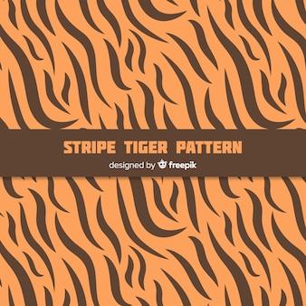 Tiger streifenmuster