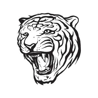 Tigerkopfmaskottchen