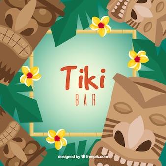 Tiki bar hintergrund