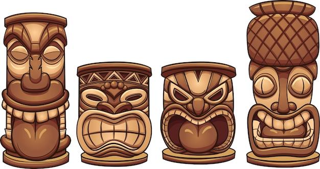 Tiki-totems