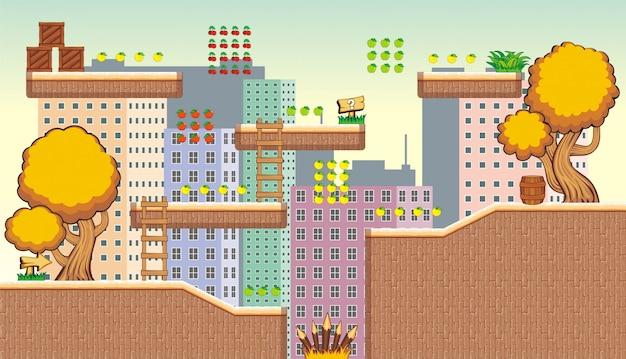 Tileset-plattform zum erstellen von spielen