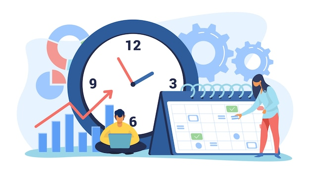 Timing und projektplanung