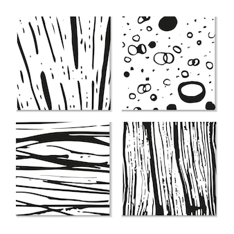 Tinte handgezeichnete texturen. kann für tapeten, hintergrund von webseiten, scrapbooking, partydekorationen, t-shirt-designs, karten, drucke, postkarten, poster, einladungen, verpackungen usw. verwendet werden.