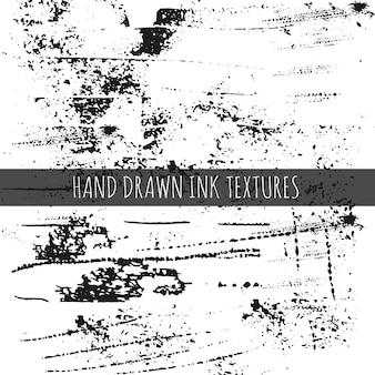 Tinte handgezeichnete texturen können für den hintergrund von webseiten scrapbooking verwendet werden