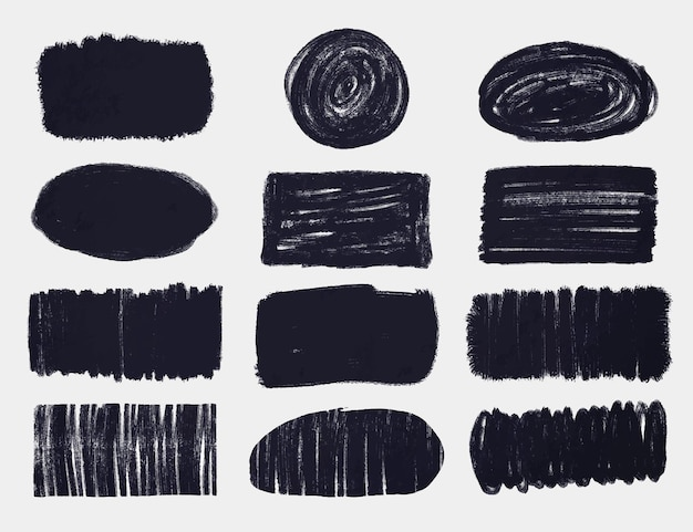 Tintenpinsel-strichpackung