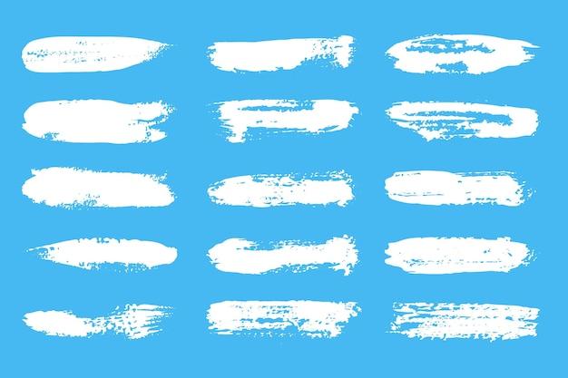 Tintenpinsel-strichsammlung
