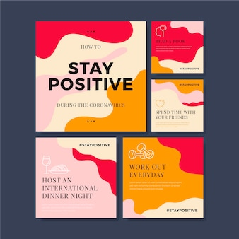 Tipps, wie sie während des coronavirus positiv bleiben können