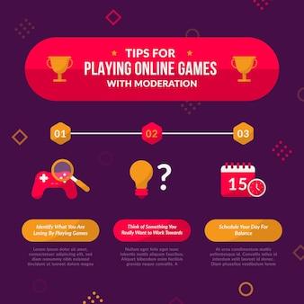 Tipps zum spielen von online-spielen mit mäßigung