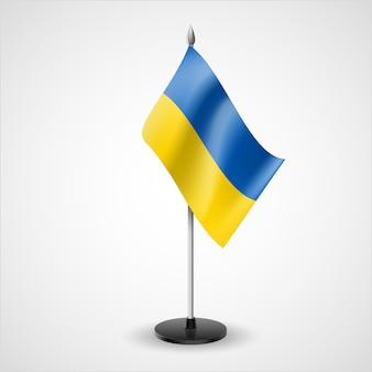 Tischfahne der ukraine