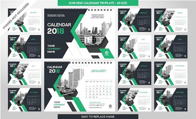Tischkalender 2018 vorlage