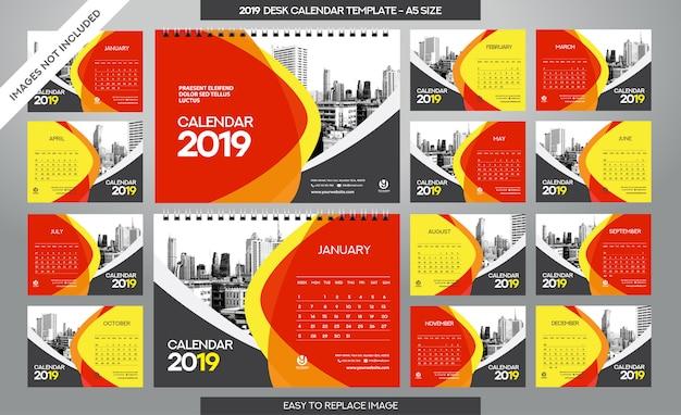 Tischkalender 2019 vorlage