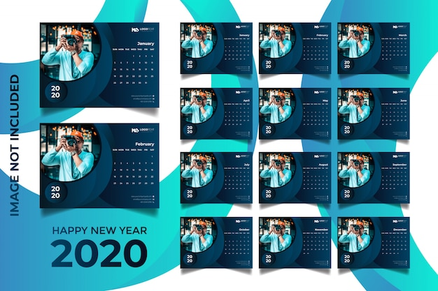 Tischkalender 2020
